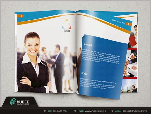 thiết kế profile công ty cung cấp thiết bị pccc