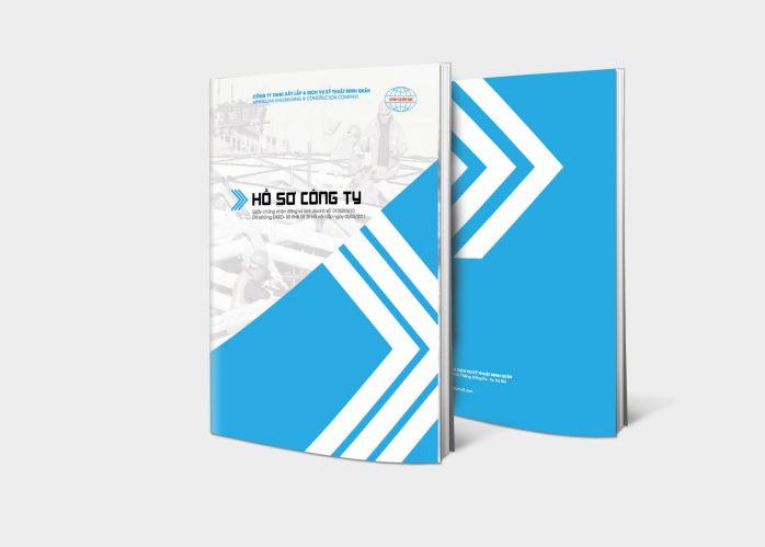 thiết kế profile công ty tư vấn tài chính
